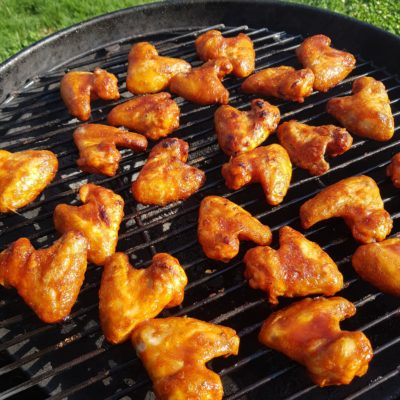 Saftige Chicken Wings vom Grill