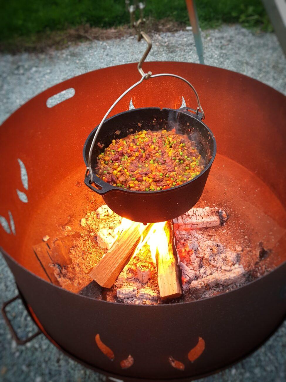 Das beste Chili con Carne aus dem Dutch Oven
